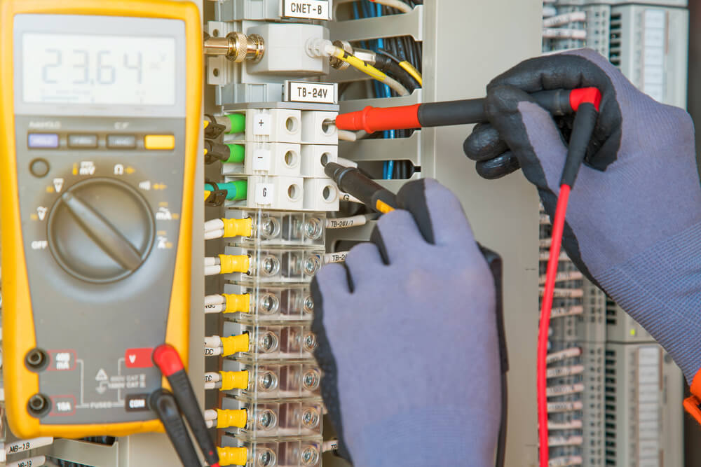 Circuit breaker testing electrical services